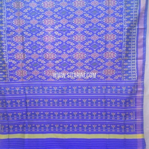 Single Ikat Patola Silk Saree-Sitarini-SITRPS348