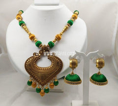 Thread Jewelry Sets-Silk-Sitarini-SITSTJS203