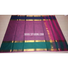 Uppada Cotton Saree-Light Purple-Sitarini-USRHUCS148