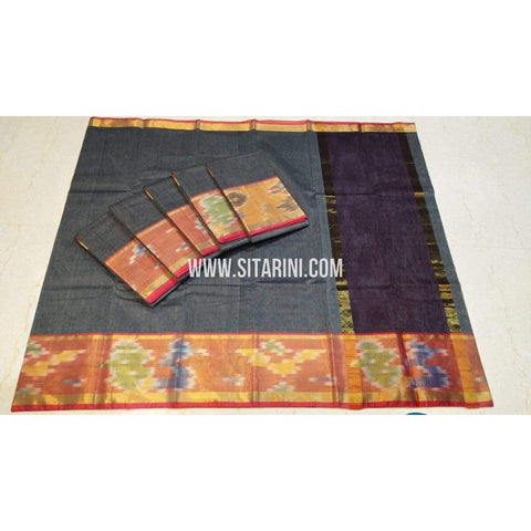 Uppada Cotton Saree-Multicolour-Sitarini-SITUCS112