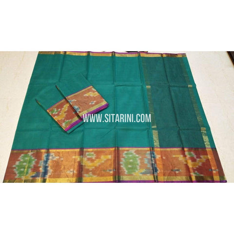 Uppada Cotton Saree-Multicolour-Sitarini-SITUCS118