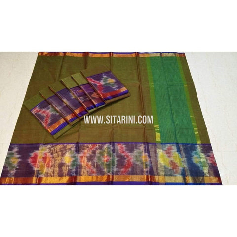 Uppada Cotton Saree-Multicolour-Sitarini-SITUCS131