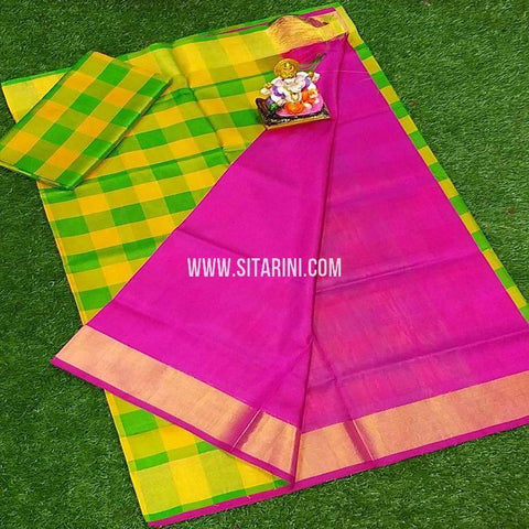 Uppada Pattu Saree-Multicolor-Sitarini-SITUSS322