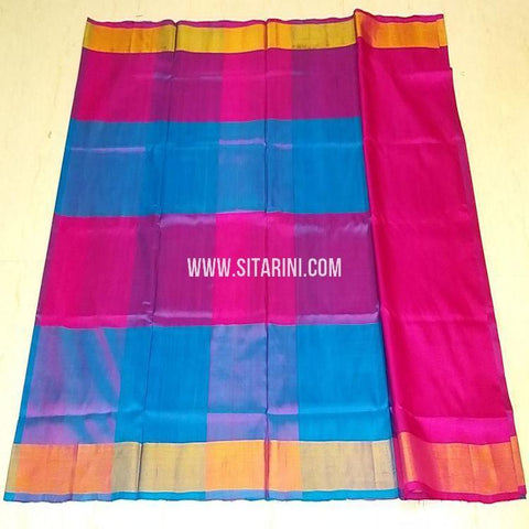 Uppada Pattu Saree-Multicolor-Sitarini-SITUSS330