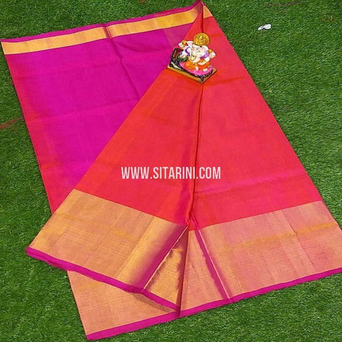 Uppada Saree-Pattu-Red-Sitarini-SITUSS360