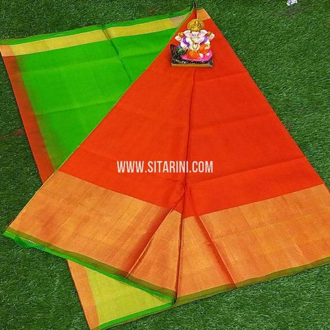 Uppada Saree-Pattu-Red-Sitarini-SITUSS361