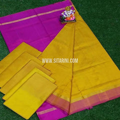 Uppada Saree-Pattu-Yellow-Sitarini-SITUSS265