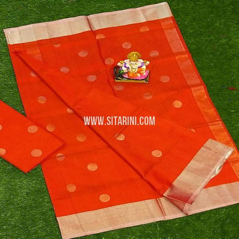 Uppada Saree-Silk-Red-Sitarini-SITUSS299