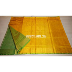 Uppada Tissue to Pattu Combination Saree with Pattu Border-Sitarini-USRHUPS204
