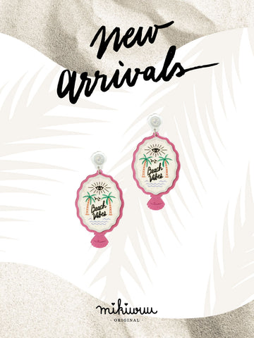 Beach vibes earrings