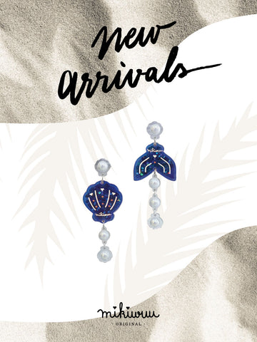 Mermaid magic earrings