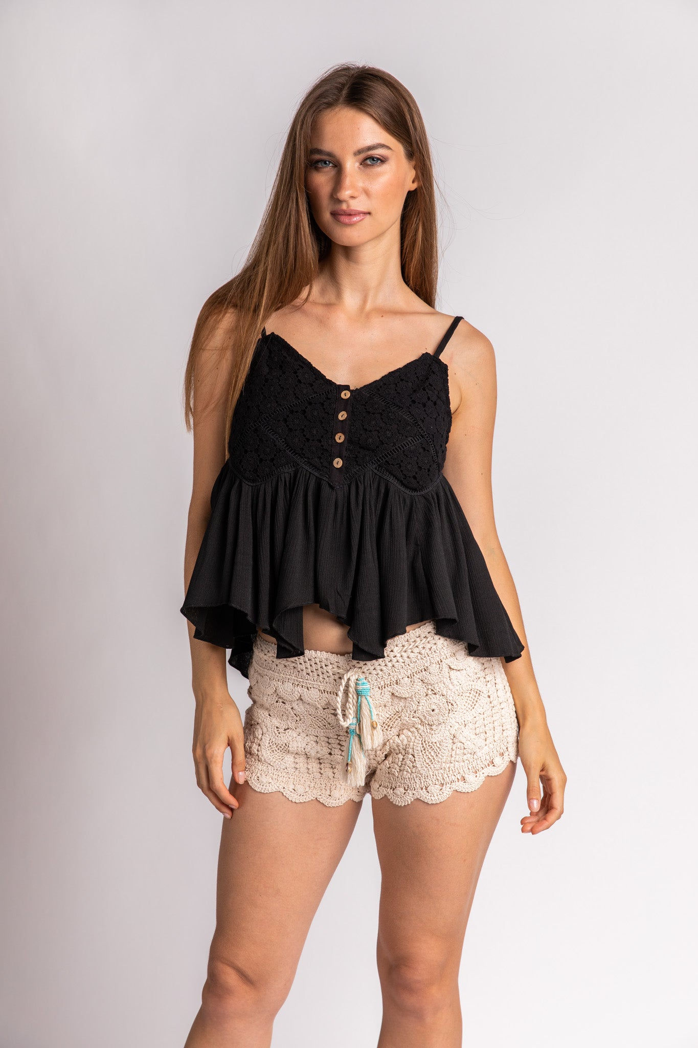 Crochet Swing Tank Top