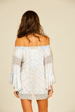 Sandy Beach Tie Dye Crochet Coverup