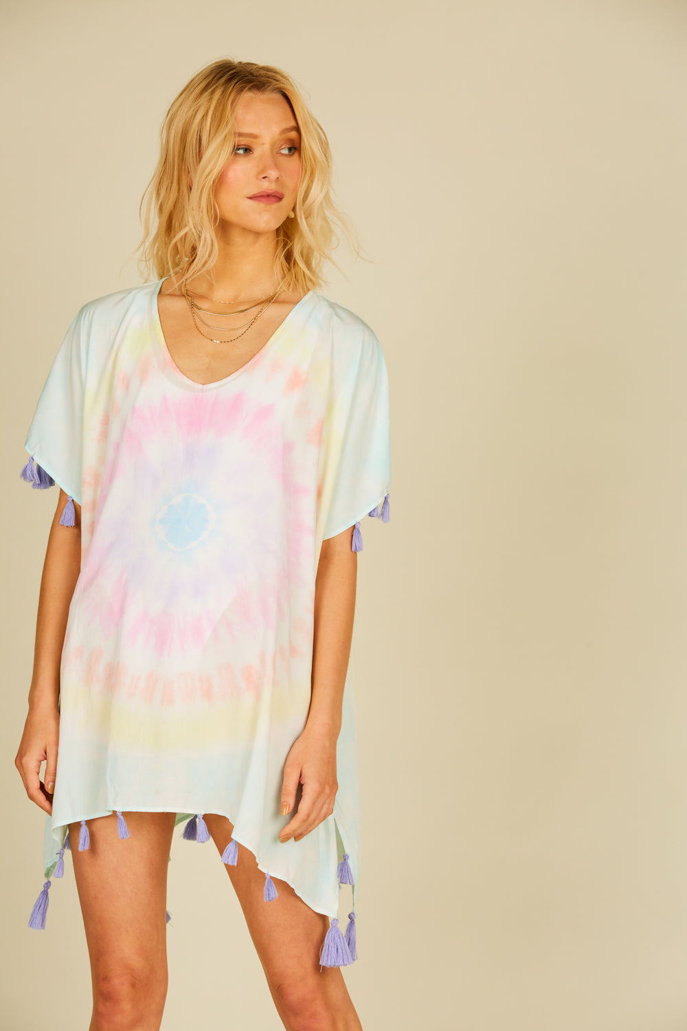 Lolli Tie Dye Basic Coverup