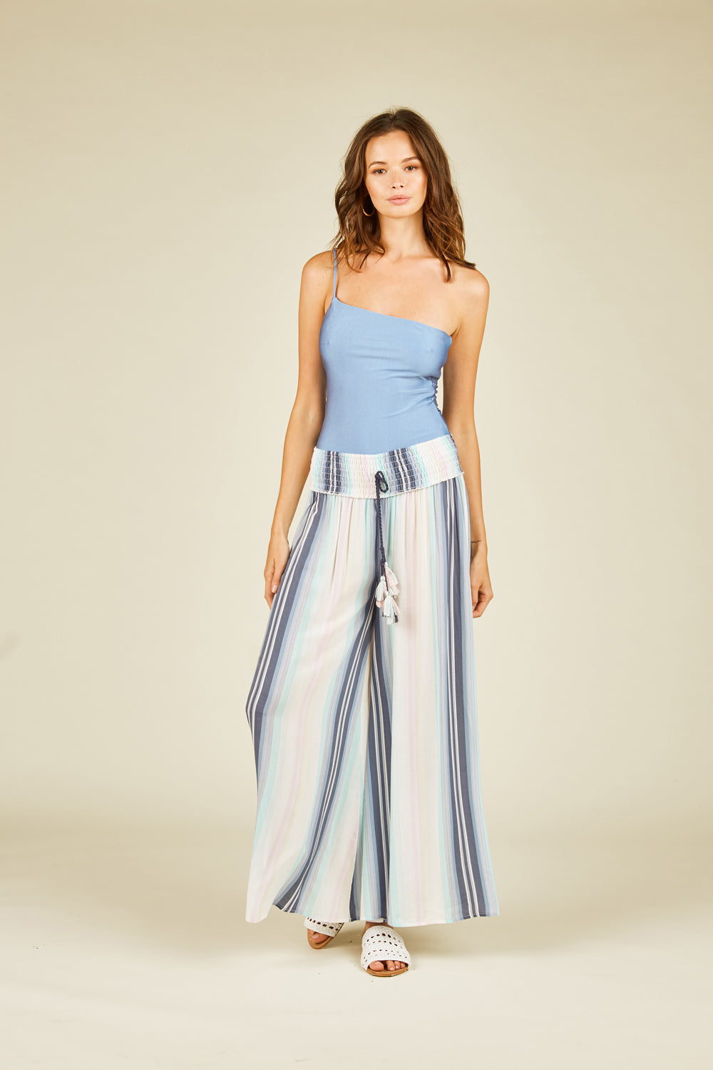 Maldives Printed Wide Leg Pant
