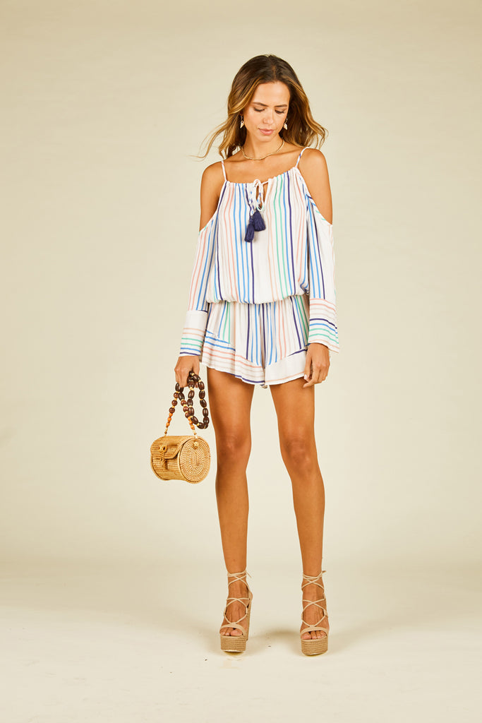 Candy Stripe Romper
