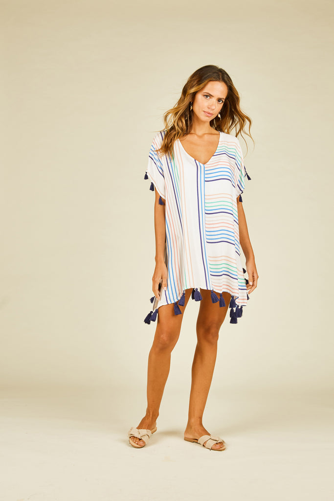 Candy Stripe Coverup