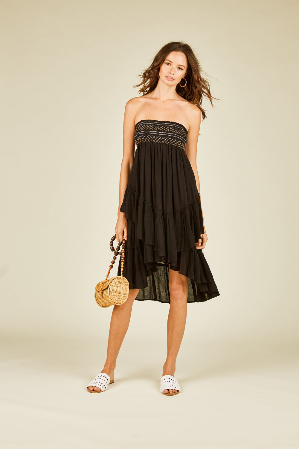 Ruffle Convertible Skirt to Dress