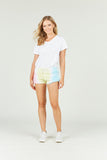 Ocean Drive x Surf Gypsy - Burnout Tri Color Tie Dye Shorts