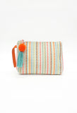 Multi Stripe Cosmetic Bag