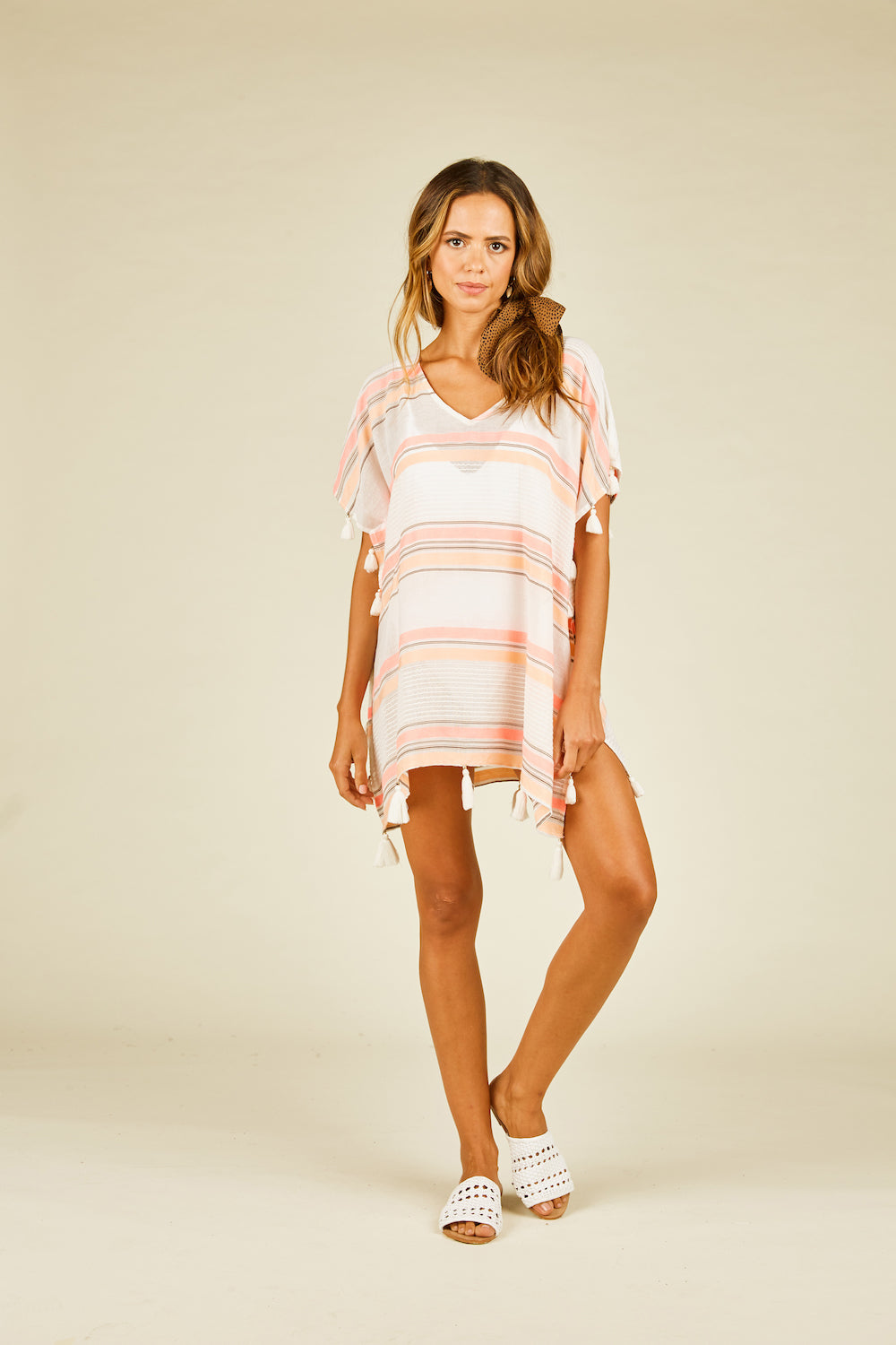 Sunrise Stripe Cover Up