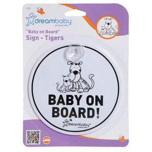 Dreambaby Round Baby on Board Sign