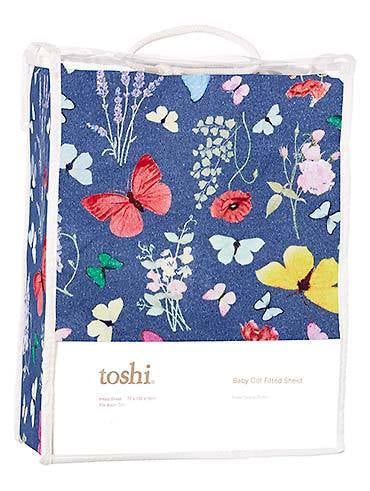 Toshi Cot Fitted Sheet Knit - Priscilla