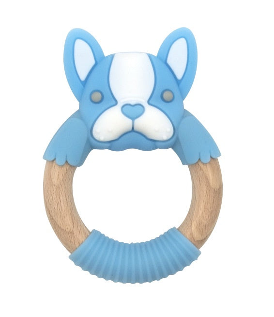 BibiBaby Teething Rings - Frenchy Blue