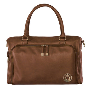 Isoki Double Zip Satchel - Redwood