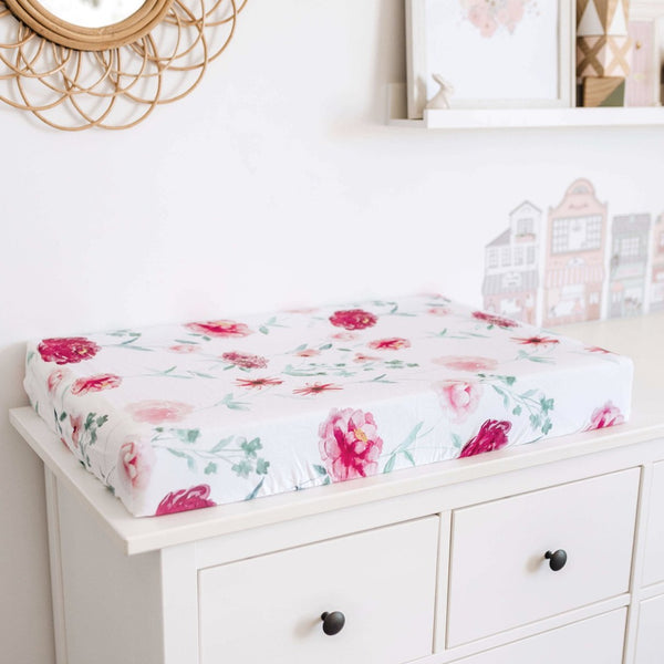 Snuggle Hunny Fitted Bassinet Sheet/Change Mat Cover Patterned