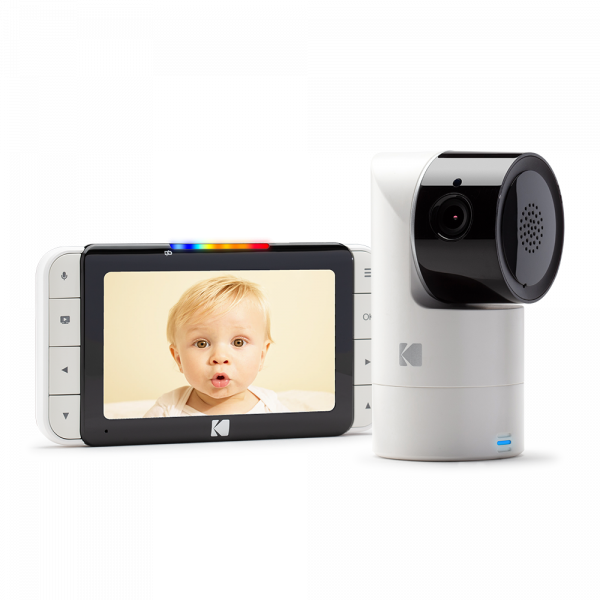 "Kodak Cherish C525 5"" Smart Video Baby Monitor"