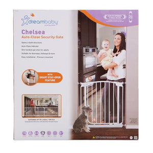 Dreambaby Safety Gate - White