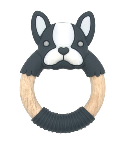 BibiBaby Teething Rings - Frenchy Black