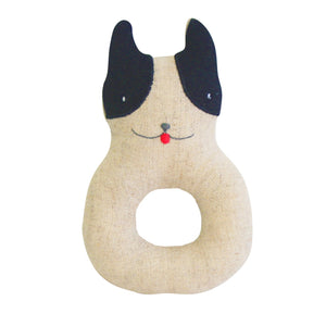 Alimrose Frenchie Puppy Ring Rattle