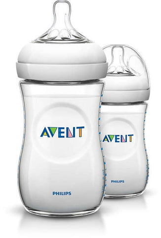 Avent Natural PP Bottle 260ml 2pk
