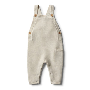 Wilson & Frenchy Oatmeal Knitted Overall