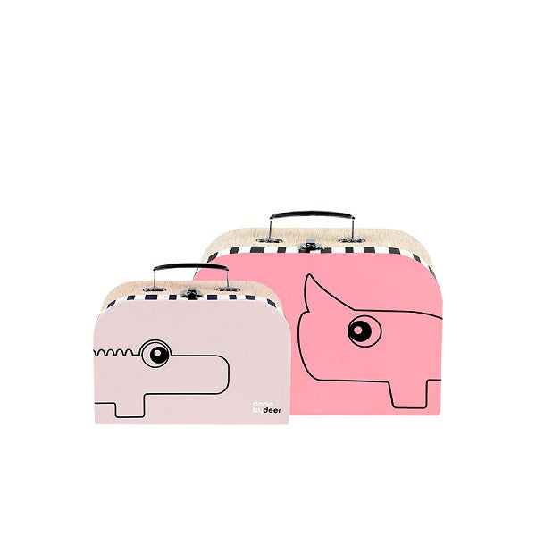 Done by Deer Suitcase Set