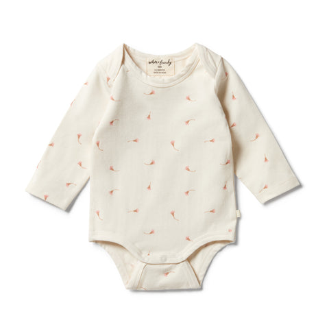 Wilson & Frenchy Organic Envelope Bodysuit - Little Blossom