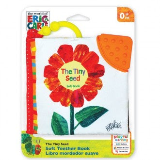 The Very Hungry Caterpillar Clip On Soft Book - The Tiny Seed