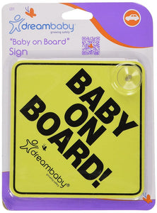 "Dreambaby ""Baby on Board"" Sign"