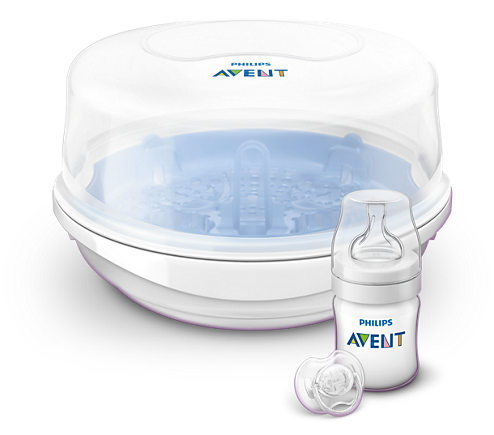 Avent Microwave Steam Steriliser Set