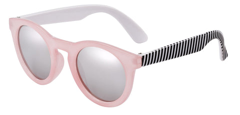 Frankie Ray Sunglasses 0-18m - Candy Pink & Stripe