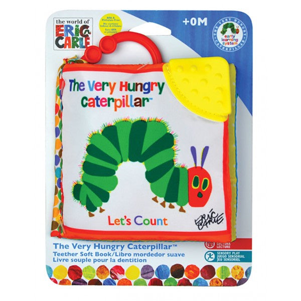 The Very Hungry Caterpillar Clip On Soft Book - Lets Count