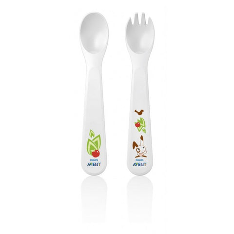 Avent Toddler Fork & Spoon Set