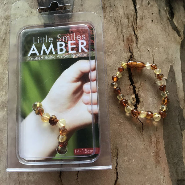 Little Smiles Baltic Amber Bracelet/Anklet