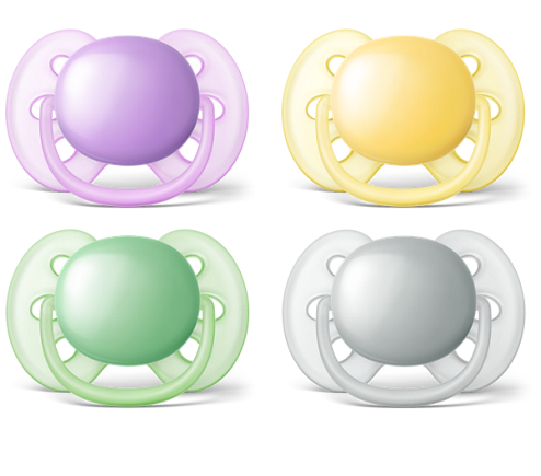 Avent Ultra Soft Soother 0-6m