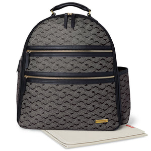 Skip Hop Deco Saffiano Backpack