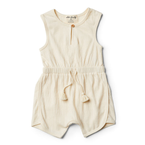 Wilson & Frenchy Whisper White Playsuit