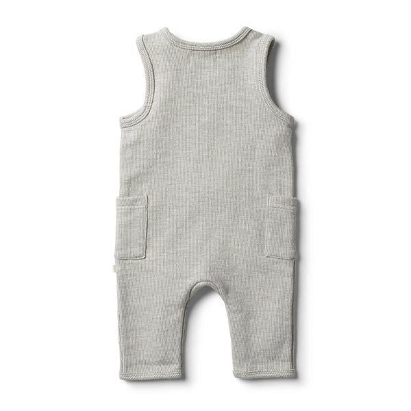 Wilson & Frenchy Oatmeal Speckle Growsuit
