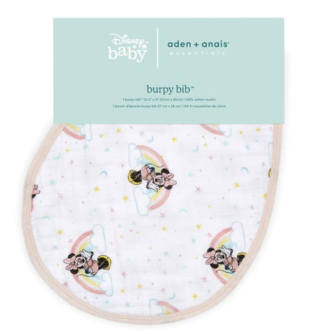 Aden + Anais Essentials Disney Burpy Bib - Minnie